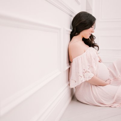 Maternity Session at Mint Room Studios – Toronto Photographer