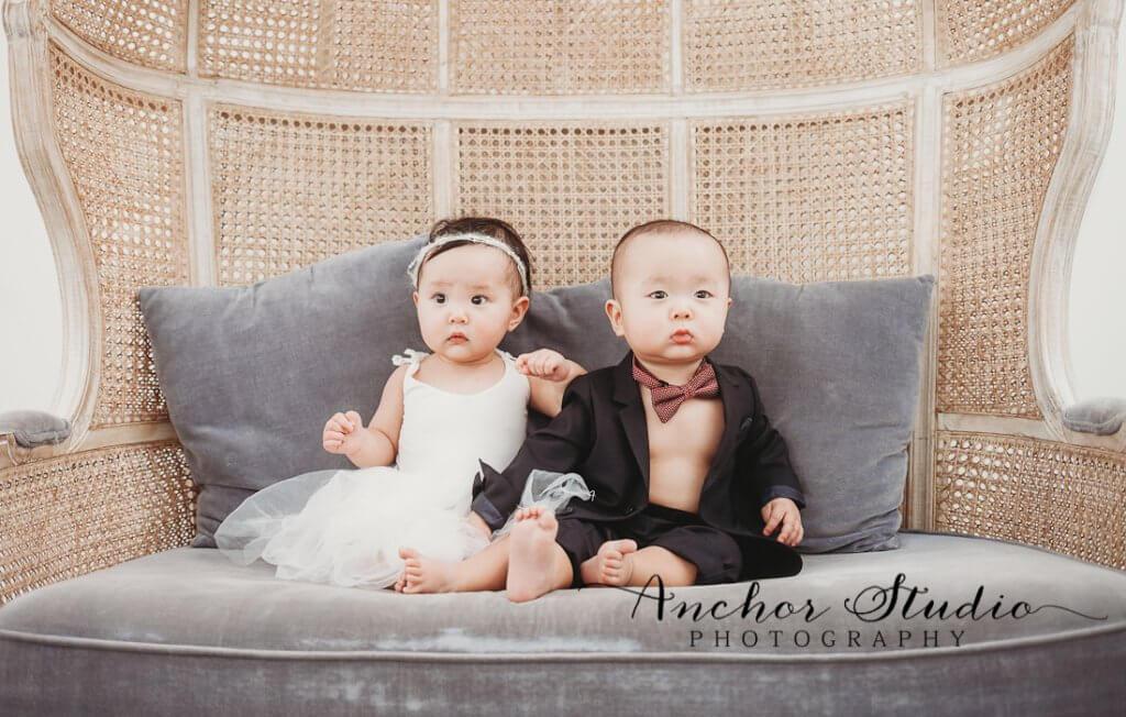 Toronto twin baby Photographers