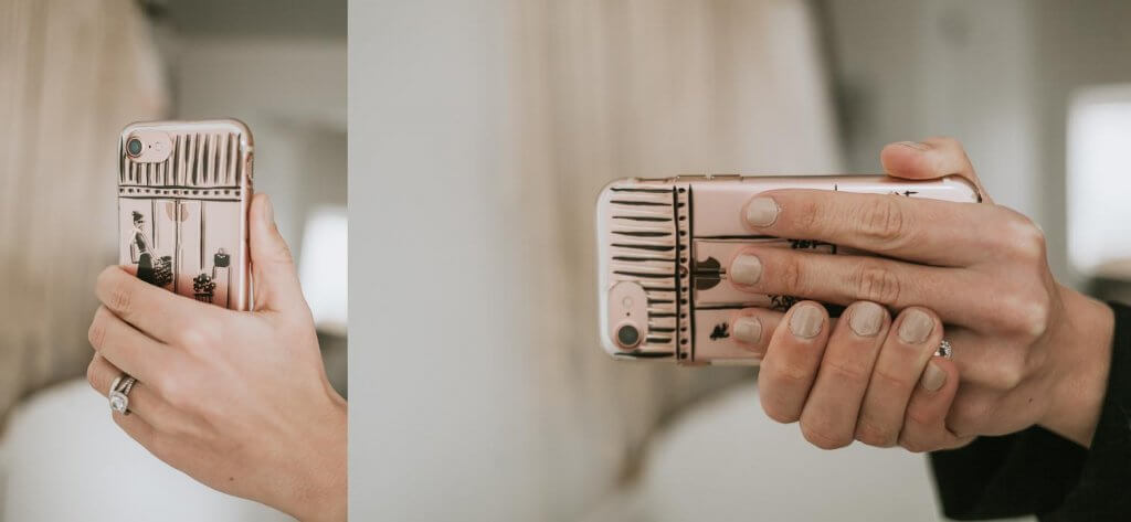 How to hold your iphone - photo tip