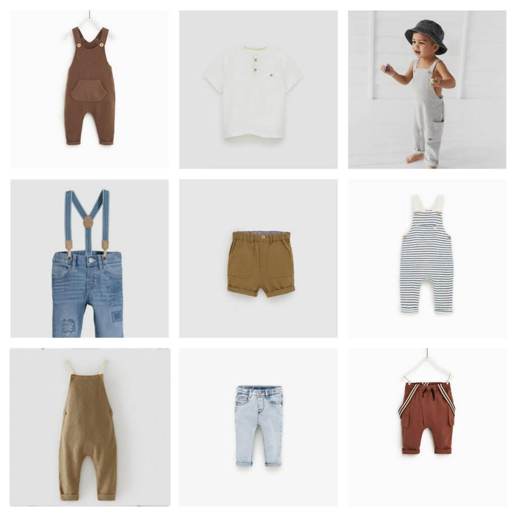 Boy clothing for photo shoots