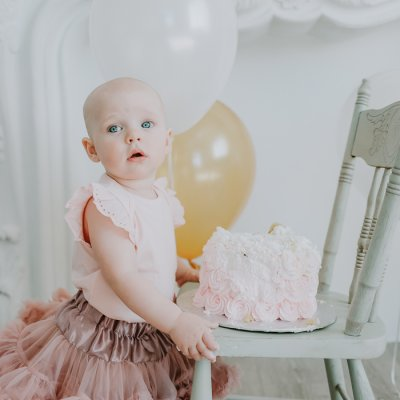 First Birthday Portraits and Cake Smash