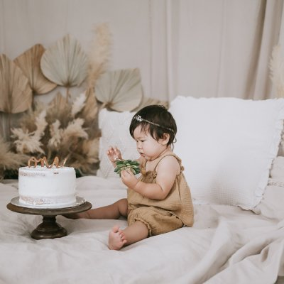 Sibling Cake Smash –  1st Birthday Photographers
