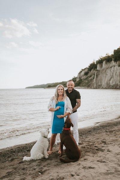 pregnancy beach photographer