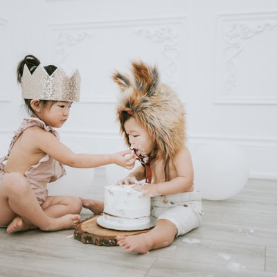 Mint Room Studios cake smash – Toronto Photographer