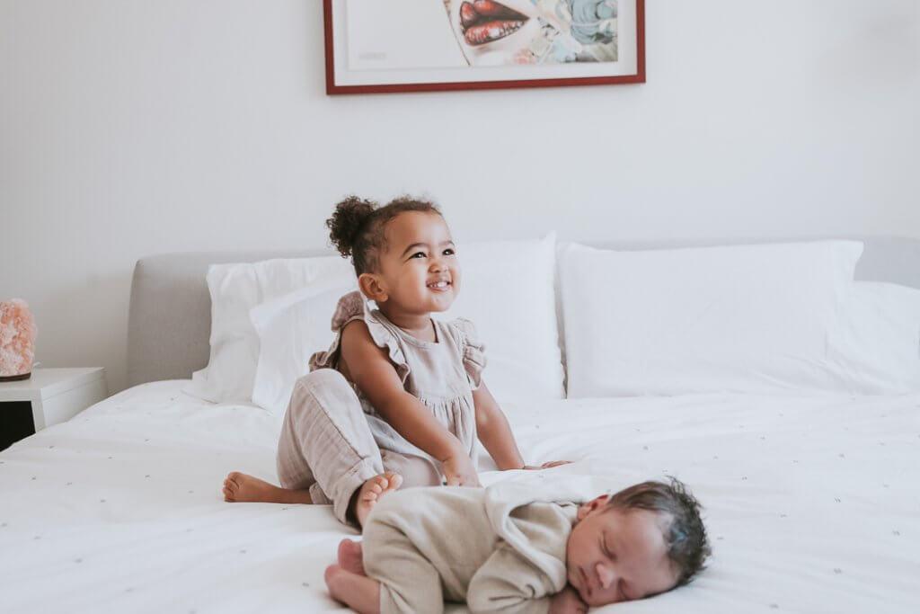 Toronto in-home baby photographer