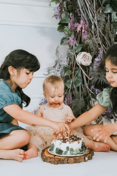 sibling cake smash photographer